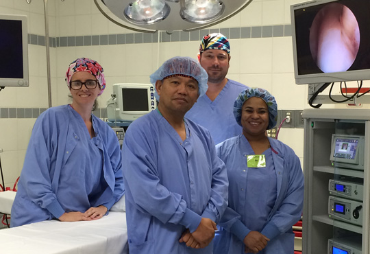 Highly-trained surgical teams